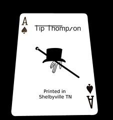 Tip Thompson Playing cards-American made, Shelbyville tn (Hayden Mcilvain) Tags: usa free shipping thompson americanmade presta
