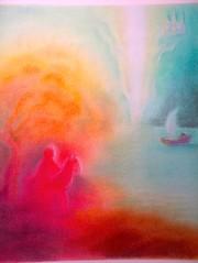 Parsifal - 6 - Pastel  TL (tamara lewis29) Tags: california teacher sacramento chalkpastel parsifal tamaraspaintings irissullivan