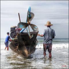 pesca (bit ramone) Tags: fishing barco pentax myanmar pesca pescadores birmania ngwesaung bitramone pentaxk5 kurtpeiserexcellence