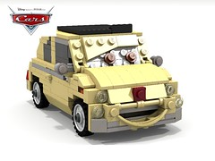 Disney Pixar Cars - Luigi (lego911) Tags: