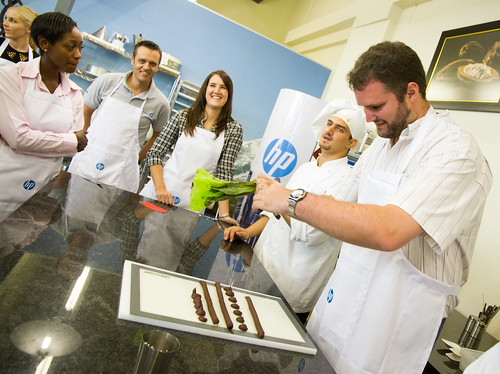 HP Supplies event at the Lindt Chocolate Factory