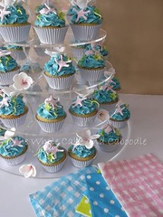 she sells sea shells (The Whole Cake and Caboodle ( lisa )) Tags: tower cupcakes cupcake vicky whangarei caboodle skudder