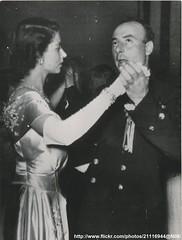 Princess Elizabeth attend ball (romanbenedikhanson) Tags: ball dance ship malta 1949 princesselizabeth originalphoto