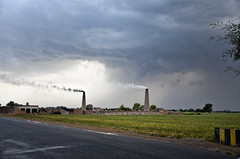 MAK_0421 (Aslam Khan - PK) Tags: storm lightening wheatfields bahawalpur khanewal chiminy