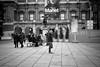 Unidentified Flying Object (stephen cosh) Tags: life street city england people blackandwhite bw london sepia mono town candid streetphotography rangefinder reallife humancondition blackandwhitephotos 50mmsummilux blackwhitephotos leicam9 stephencosh leicammonochrom leicamm