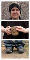 99/365 Melissa (alexharrison101) Tags: portrait feet canon triptych tea 1100d addeadesokan