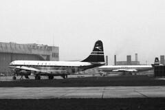 BOAC Maintenance base at Heathrow. (piktaker) Tags: heathrow cleopatra lhr propellor boac egll stratocruiser londonairport boeingstratocruiser boeing377 gantx pistonenging britishoverseaairwayscorporation
