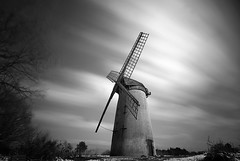 Version... (Digital Diary........) Tags: uk longexposure windmill liverpool le wirral weldingglass bidstonwindmill