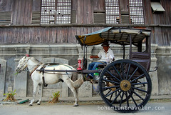 calesa Vigan Philippines (BohemianTraveler) Tags: old city horse heritage architecture island town site asia pacific district philippines colonial chinese unesco mexican spanish filipino sur vigan ilocos kalesa luzon calesa mestizo