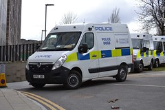 KP62 JBO (S11 AUN) Tags: dog police northumbria section vauxhall movano kp62jbo