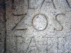 Inscrio romana (Paulo Heitlinger, tipografos.net) Tags: lettern versalien rmische versais romancapitals lateinischebuchstaben