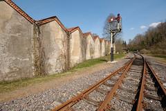 Double Track (Lord Markus) Tags: railroad bridge nikon valle railway trains ponte valley ferrovia treni fnm folla olona malnate d300s