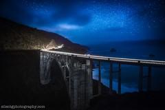 N O R T H B O U N D (Silent G Photography) Tags: california longexposure nightphotography stars nikon bigsur d800 bixbybridge reallyrightstuff rrs bixy 2013 silentgphoto