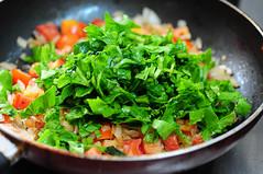 palak pulao-spinach rice-keerai sadam