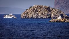 Hydra Island, Greece (Ioannisdg) Tags: ioannisdg gofhydra ship flickr greek travel church island diakopes greece vacation hydra ioannisdgiannakopoulos summer idra attica gr