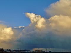 Towering Cumulus (Richard Bougeard) Tags: jersey weather