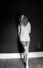 Before I Broke (Deathexit12) Tags: girl danielle blonde model barefoot abandoned house wisconsin wi self portrait selfportrait wood floors 10secondtimerdash tattoos bodyart