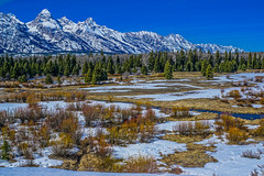 Grand Teton range--DSC00532--Jackson Hole Valley, Wyoming (Lance & Cromwell back from a Road Trip) Tags: nationalpark roadtrip 2016 grandtetons