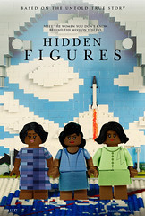 Hidden Figures LEGO Poster (Model Gal) Tags: lego nasa hiddenfigures minifigures minifig legoart legomosaic engineer math