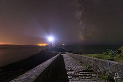 Minou again... (Fab2brest) Tags: bretagne finistre france minou plouzan night milkyway lighthouse