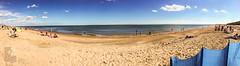 North Beach Pano (DeePee64) Tags: beach seaside northsea skegness lincolnshire sand sea northbeach
