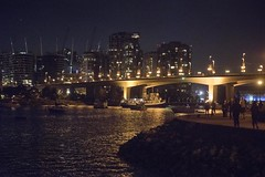 20160730_0369_1 (Bruce McPherson) Tags: brucemcphersonphotography lowloight nightphotography dark citylights skyline water boats people falsecreek vancouver bc canada existinglight outdoor outdoors