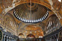 Istanbul (Byzantium Art) Tags: 6thcentury aghiasophia anthemiusoftralles architectural architecture asia asian ayasofya bosphorus byzantium ceiling christian christianity church city color colorimage colour colourimage column constantinople cultural culture divinewisdom dome emperorjustiniani europe european hagiasophia horizontal image indoors inside interior isidoreofmiletus islam islamic istanbul mosaic moslem mosque museum muslim nopeople nobody ottoman photograph photography religion religious sanctasophia thechurchoftheholywisdom tourism touristattraction travel turkey turkish unescoworldheritagesite