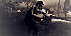 fainting (aloyssia.hema) Tags: secondlife virtual maitreya argrace mesh meshbody body bodymesh scary qp qpose