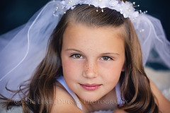 Preston (scoopsafav) Tags: girl girls face familyphotography fashion freckles familyportraits portrait portraits preteen pretty whitedress veil communion holycommunion leighduenasphotography beauty child children childrensportraits closeup cute kid kids model models modeling