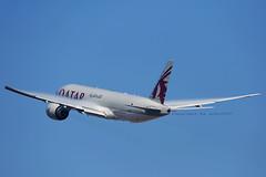 Qatar Cargo Boeing 777-200F departing LAX (A7-BFD) (wilco737) Tags: klax lax los angeles international airport boeing boeing777 boeing777f boeing77f boeing777200 boeing777200f b777 b777f b77f b777200 b777200f 777 777f 77f 777200 777200f boeing777fdz b777fdz 777fdz aviation plane planes airplane airplanes spotting spotter planespotter planespotting a7bfd 41427 ln1004 ln 1004 qatar airways cargo qr qtr