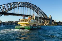Harbour Bridge and ferry (Viv Agar) Tags: sydney ferry spring harbourbridge sydneyharbour australia