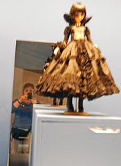 Me and her (Antropoturista) Tags: poland krakau krakow manggha museum doll japanese ego selfie reflection