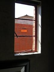 Window in Mandela House (lesterpearce) Tags: joburg johannesburg mandela soweto