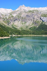 Lac du Tseuzier (Suisse, Canton du Valais) (bobroy20) Tags: suisse valais lac sion tseuzier lacdutseuzier montagne alpes sommet pic voyagetravellingreise ngw