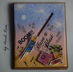 Fireworks - Fire Crackers - Have a blast - Diwali (unnati_k_rana) Tags: handmade handmadegreetingscard handmadecard etsyhandmade etsysaller etsy etsyshop cardforsale cards greetingscard happydiwali happydiwalicard happyholiday happynewyear fireworks firecrackers slidercard distressink stamping diwalicackers diwalicelebration diwalicard diwaligreetings