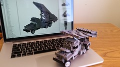 You're going to like this! (Yitzy Kasowitz) Tags: brickmania katyusha lego truck rocket missle bm13n