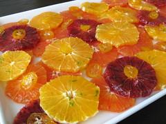 orange salad with candied kumquats and citrus syrup (A Sage Amalgam (Heather Sage)) Tags: winter orange fruit breakfast recipe brunch citrus lime navel kumquat caracara bloodorange glutenfree heathersage