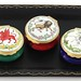 149A. Group of Three Halcyon Days Enamels Mythological Creatures Boxes