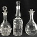 4027. (6) Vintage Glass Decanters - Image 1 of 2