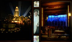 Napa Rose and Carthay Circle Windows (Barry Wallis) Tags: california usa window anaheim dlr disneylandresort grandcalifornianhotel gch carthaycircle barrywallis chefandrewsutton