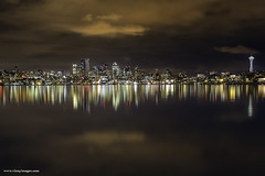 Nights at Gasworks (Vinnyimages) Tags: seattle city reflection night lights northwest citylights gasworks washingtonstate cityseattle seattlewashington seattleparks vinnyimages wwwvinnyimagescom seattlereflection