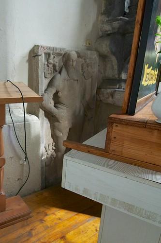 Epitafium we wschodniej ścianie kaplicy Maltzanów w kościele św. Jana Ewangelisty w Paczkowie