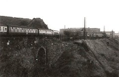 Mangotsfield station 7th October 1967 (Robin Summerhill) Tags: station mangotsfield