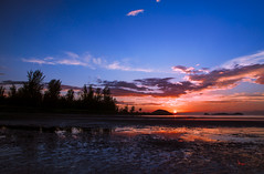 KK sunset (jonjacob^^) Tags: light sunset sunrise low serenity slowshutter lok kawi northborneo sabahsunset slta77v