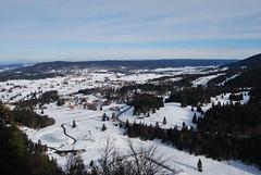 Vue du tlsige du Balancier. (Azariel01) Tags: snow france les jura neige rousses