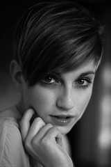 Agnese (Alessio Albi) Tags: portrait beauty face 50mm eyes nikon 14 50 ritratto faccia d600