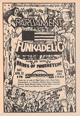 1979 Parliament Funkadelic Newspaper Concert Ad Checkerdome St. Louis (gregg_koenig) Tags: st louis newspaper concert ad parliament missouri 70s 1970s 1979 funkadelic funkenstein checkerdome