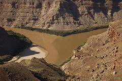 Confluence (W9JIM) Tags: muddywater greenriver coloradoriver 40mm w9jim muddy confluence 1740l cheslerpark elephanthill waterinthedesert