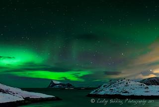 Aurora over Hadjj