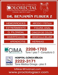 Dr. Benjamn Flikier (Mdicos Costa Rica) Tags: hemorroides apendicitis pilonidal hernias estreimiento diverticulos absesoyfstula benjamnflikierz cncerdecolonvesculabiliar drbenjamnflikier fisuraanal